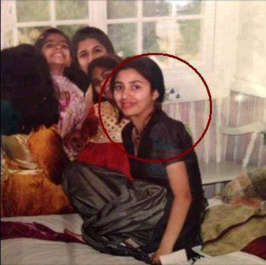 Mahira Khan Childhood Pics
