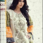 MARIA B Lawn Unstitched Luxury Eid Collection 2015 Prices