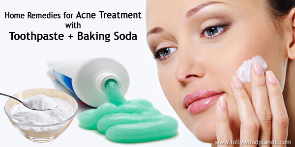 Toothpaste Baking Powder For Acne And