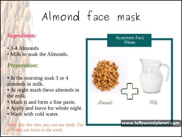 Homemade Almond Face Mask
