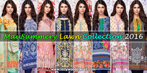 MauSummery Lawn 2016 Dresses Designs Online