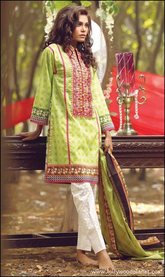 e6d8a4102692 Orient Textiles 2 Piece Lawn Dresses 2016 with Price