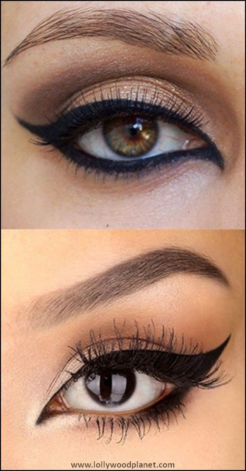 9 Eye Makeup Tricks To Make Your Eyes Look Good With Eyeliner