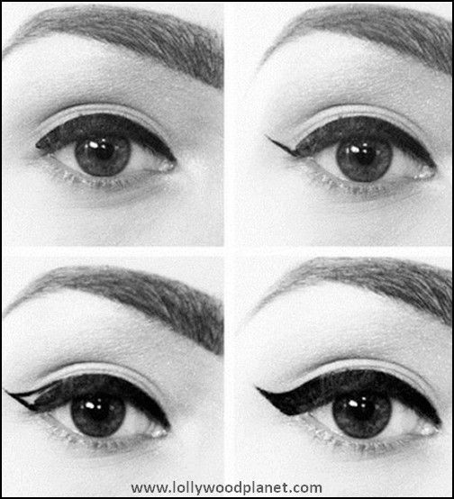 The Twiggy Eyeliner Look