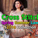 Cross Stitch New Lawn Dresses 2016 Online Catalog