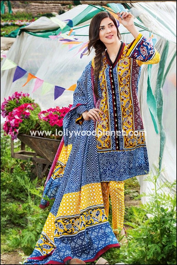 7f240012fe Gul Ahmed Summer Lawn Collection 2016 Vol 2 Prices | Embroidered '16
