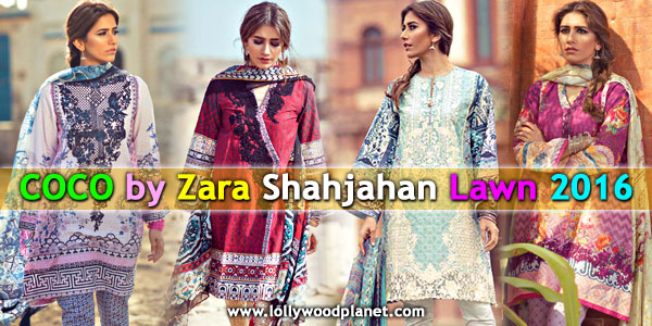 Zara Shahjahan Lawn Collection 2016 for Women
