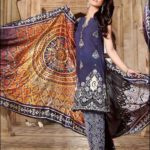 Gul Ahmed Ideas Pret Eid Collection 2016 Design PM 126