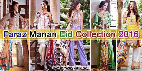 Faraz Manan Eid Collection 2016 Catalogue