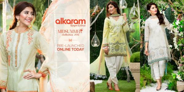 Al-Karam Mid-Summer Lawn Collection 2016 Catalogue