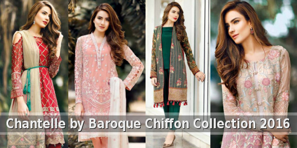 Chantelle by Baroque Chiffon Collection 2016 Online Catalog