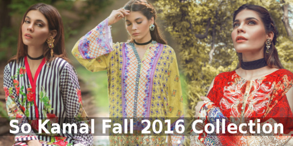 So Kamal Fall Lawn Collection 2016