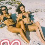 Bella Hadid & Emily Ratajkowski Flaunt Gorgeous Figures In Sexy Bikinis