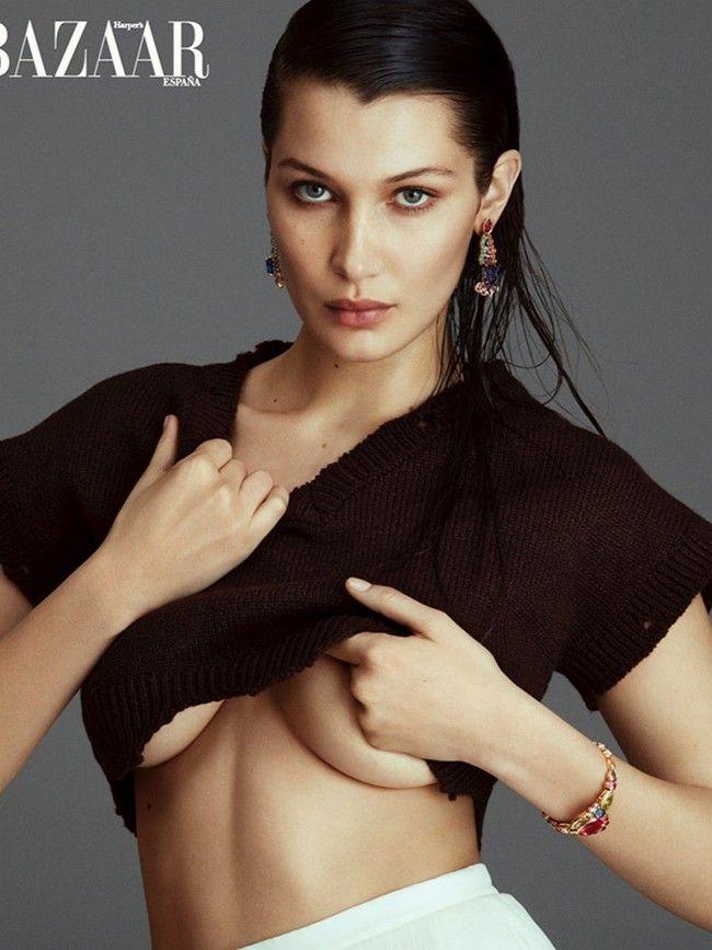 Bella Hadid Hot Pics Harpers Bazaar
