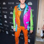 Designer Jeremy Scott harpers bazaar celebrates party