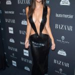 Model Emily Ratajkowski attends Harper's BAZAAR Party