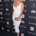 Pamela Anderson attends Harper's BAZAR Party