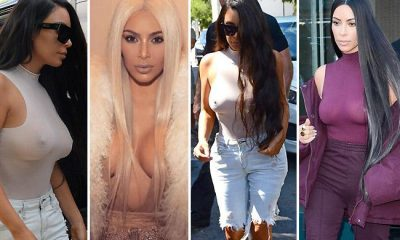 Kim Kardashian Frees the Nipple Again