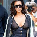 Kim Kardashian Frees the Nipple Again