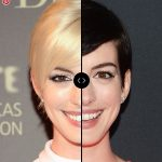 Blonde vs Brunette: ANNE HATHAWAY Hair Colors