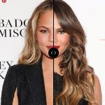 Blonde vs Brunette: CHRISSY TEIGEN Hair Colors