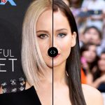 Blonde vs Brunette: JENNIFER LAWRENCE Hair Colors