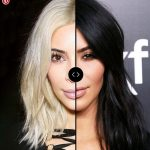 Blonde vs Brunette: KIM KARDASHIAN Hair Colors