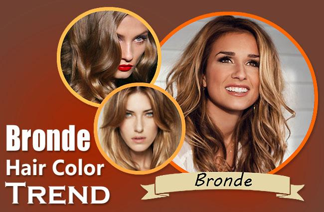 Bronde Hair Color Trend