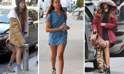 Malia Obama Wears Nothing But A Shirt To Work