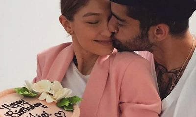 Zayn Malik Gives Kisses & Love To Gigi Hadid Birthday