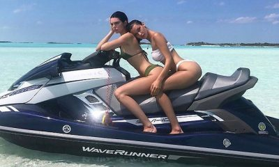 Kendall Jenner and Bella Hadid Bikini Vacation