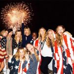 Taylor Swift & Friends 4th Of July Party Pics