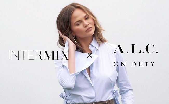 Chrissy Teigen Launched Intermix Sportswear Line