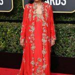 Meher Tatna 75th Golden Globe Awards Red Carpet
